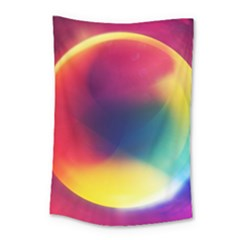 Colorful Glowing Small Tapestry