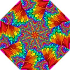 Colorful Trippy Folding Umbrellas