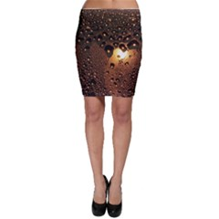 Condensation Abstract Bodycon Skirt