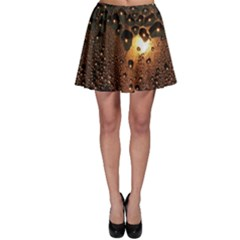 Condensation Abstract Skater Skirt