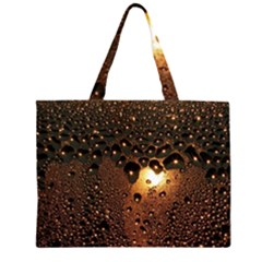 Condensation Abstract Large Tote Bag