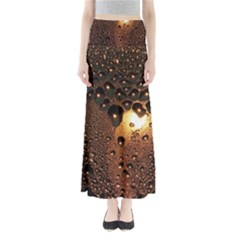 Condensation Abstract Maxi Skirts
