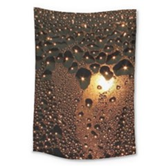 Condensation Abstract Large Tapestry