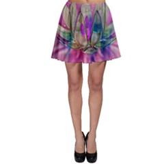 Crystal Flower Skater Skirt