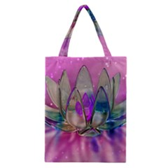 Crystal Flower Classic Tote Bag
