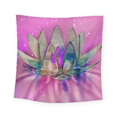 Crystal Flower Square Tapestry (Small)