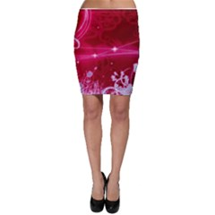 Crystal Flowers Bodycon Skirt