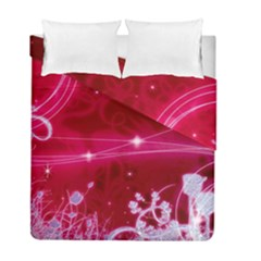 Crystal Flowers Duvet Cover Double Side (full/ Double Size)