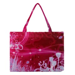 Crystal Flowers Medium Tote Bag