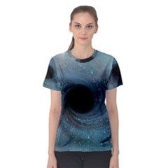 Cosmic Black Hole Women s Sport Mesh Tee