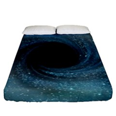 Cosmic Black Hole Fitted Sheet (queen Size)