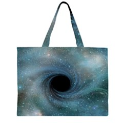 Cosmic Black Hole Large Tote Bag