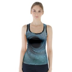 Cosmic Black Hole Racer Back Sports Top