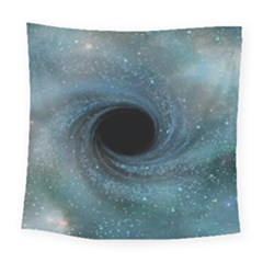 Cosmic Black Hole Square Tapestry (large)