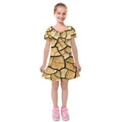 Dry Ground Kids  Short Sleeve Velvet Dress
