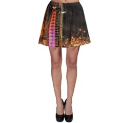 Dubai Burj Al Arab Hotels New Years Eve Celebration Fireworks Skater Skirt