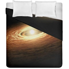 Erupting Star Duvet Cover Double Side (california King Size)