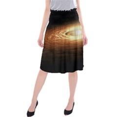 Erupting Star Midi Beach Skirt