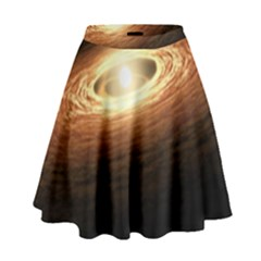 Erupting Star High Waist Skirt
