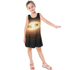 Erupting Star Kids  Sleeveless Dress