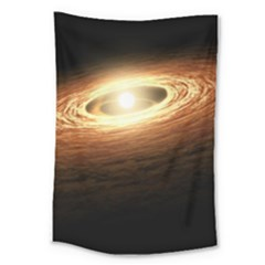 Erupting Star Large Tapestry