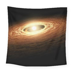 Erupting Star Square Tapestry (large)