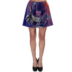 Eve Of Destruction Cgi 3d Sci Fi Space Skater Skirt
