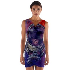 Eve Of Destruction Cgi 3d Sci Fi Space Wrap Front Bodycon Dress