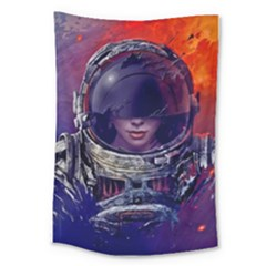 Eve Of Destruction Cgi 3d Sci Fi Space Large Tapestry
