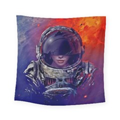 Eve Of Destruction Cgi 3d Sci Fi Space Square Tapestry (Small)