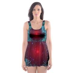 Fantasy 3d Tapety Kosmos Skater Dress Swimsuit