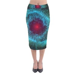 Fantasy 3d Tapety Kosmos Velvet Midi Pencil Skirt