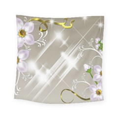 Floral Delight Square Tapestry (small)