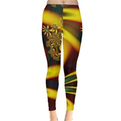 Floral Design Computer Digital Art Design Illustration Leggings