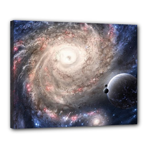 Galaxy Star Planet Canvas 20  X 16