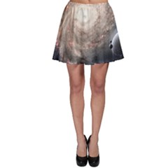 Galaxy Star Planet Skater Skirt
