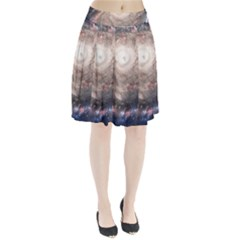 Galaxy Star Planet Pleated Skirt