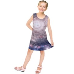 Galaxy Star Planet Kids  Tunic Dress