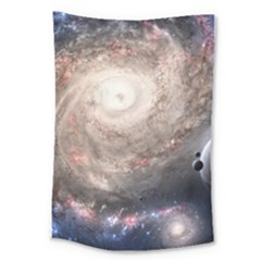 Galaxy Star Planet Large Tapestry