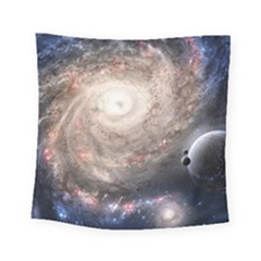 Galaxy Star Planet Square Tapestry (Small)