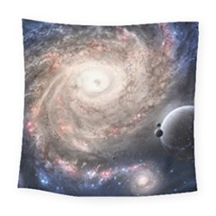 Galaxy Star Planet Square Tapestry (large)