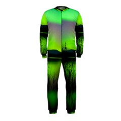 Green Northern Lights Canada Onepiece Jumpsuit (kids)