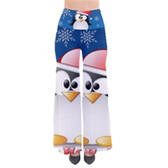 Happy Holidays Christmas Card With Penguin Pants