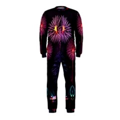 Happy New Year New Years Eve Fireworks In Australia Onepiece Jumpsuit (kids)