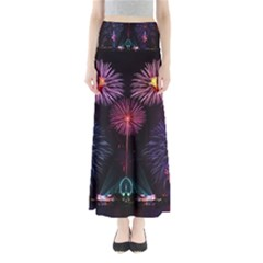 Happy New Year New Years Eve Fireworks In Australia Maxi Skirts