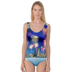 Happy New Year Celebration Of The New Year Landmarks Of The Most Famous Cities Around The World Fire Princess Tank Leotard