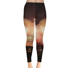 Kuwait Liberation Day National Day Fireworks Leggings