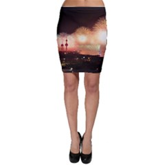 Kuwait Liberation Day National Day Fireworks Bodycon Skirt