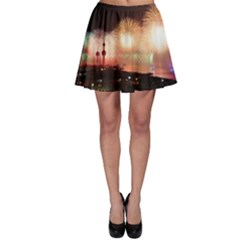 Kuwait Liberation Day National Day Fireworks Skater Skirt