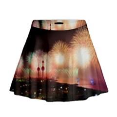 Kuwait Liberation Day National Day Fireworks Mini Flare Skirt
